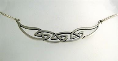 Silver Hebridean Necklet