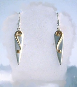Silver Lyradale Earrings
