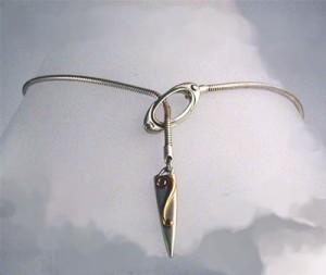 Silver Lyradale Necklace