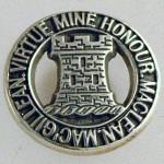 MacLean crest pendant