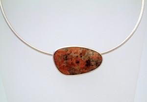 Isle of Mull granite necklace