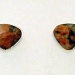 Granite earstuds