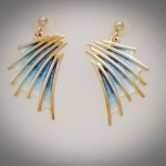 Cascade earrings larger