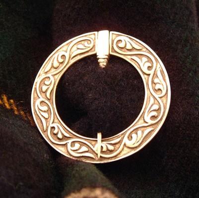 Small Silver Penannular Brooch