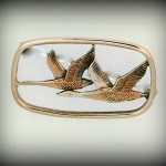 GEESE BROOCH HJ277BR 3.8 CM 52.00