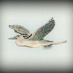 HERON BROOCH HJ270BR 2.7CM 42.40