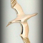 Large  gannet brooch B800 6CM 53.20