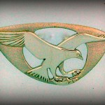 OSPREY BROOCH  B31 4.3CM 49.20