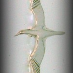 SMALL GANNET BROOCH B810 4CM 40.00