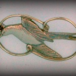 TERN BROOCH B47 4CM 49.60
