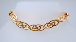 Gold Hebridean Bracelet