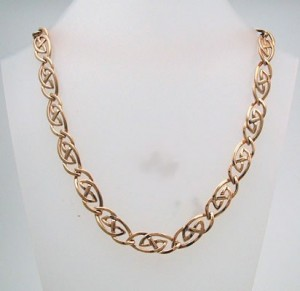 Gold Hebridean Necklace