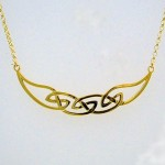 Gold Hebridean Necklet