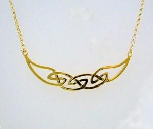 Gold Hebridean Necklet