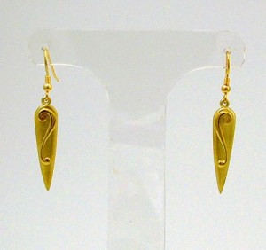 Gold Lyradale Earings