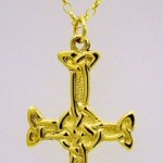 Gold Columba Cross