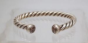 Silver Hebridean Wrist Torq