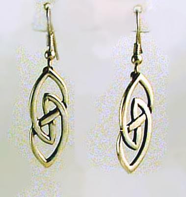 Silver Hebridean Earrings