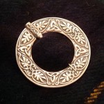 Large Silver Penannular Brooch