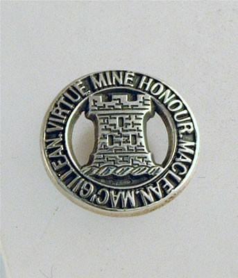 Silver MacLean Brooch