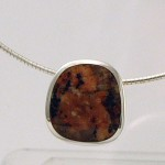 Isle of Mull granite necklace