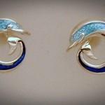 Dolphin round stud