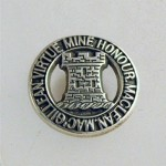 Silver MacLean Laple pin