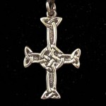 Silver St Columba's Cross