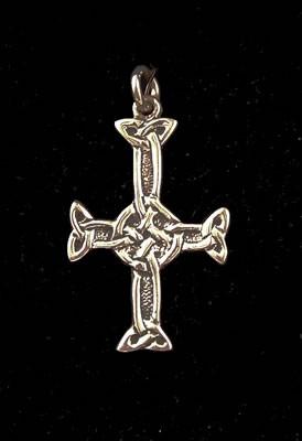 Silver St Columba's Cross